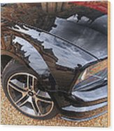 Polished To Perfection - Mustang Gt Wood Print by Gill Billington