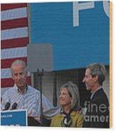 Politicians Wood Print by Lisa Gifford