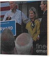 Politicians Sept 21 2012 Wood Print