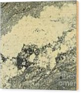 Pollen Of Black Spruce Trees On Water Surface Wood Print