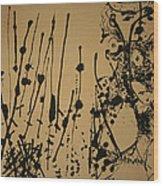Pollock's Number 7 -- 1951 Wood Print