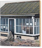 Polpeor Cafe The Lizard Point Wood Print