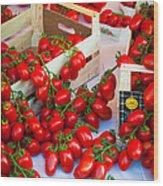 Pomodori Italiani Wood Print
