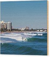 Pompano Beach, Florida, Exterior View Wood Print