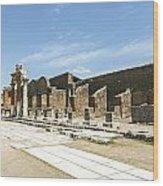 Pompeii 5 Wood Print
