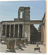 Pompeii 8 Wood Print
