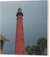 Ponce De Leon Inlet Light 2 Wood Print