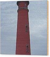Ponce De Leon Inlet Light Wood Print