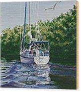 Ponce De Leon Passage Wood Print by Karol Wyckoff