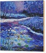 Pond 563111 Wood Print