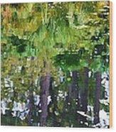 Pond 7 Wood Print