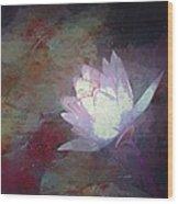 Pond Lily 32 Wood Print