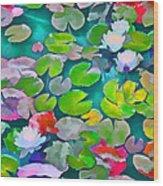Pond Lily 5 Wood Print