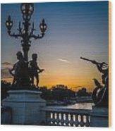 Pont Alexandre IIi Wood Print