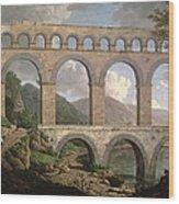 Pont Du Gard, Nimes Wood Print