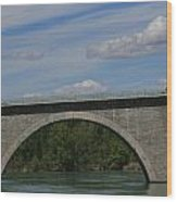 Pont La Javie  South France Wood Print