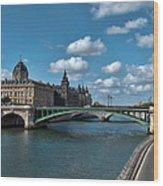 Pont Notre Dame Wood Print