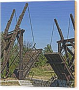 Pont Van Gogh Arles France Dsc01724  Wood Print