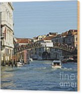 Ponte Dell Accademia Wood Print