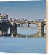 Ponte Santa Trinita Florence Italy Wood Print