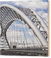 Ponte Settimia Spizzichino Wood Print