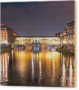 Ponte Vecchio - Florence Wood Print
