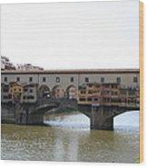 Ponte Vecchio I Wood Print