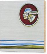 Pontiac Eight Chieftain Wood Print by Tim Gainey