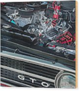 Pontiac G T O Wood Print