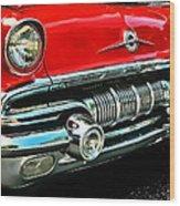 Pontiac Grill Wood Print