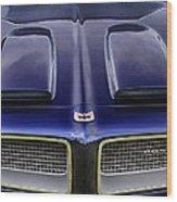 Pontiac Hood Wood Print