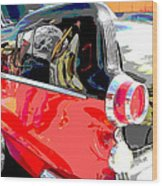 Pontiac Reflections Wood Print