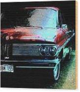 Pontiac Shade N Sun  Wood Print