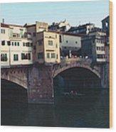 Ponto Vecchio Florence Palette Wood Print