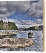 Pontsticill Reservoir 2 Wood Print by Steve Purnell