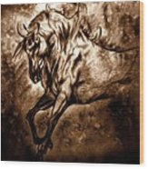 Pony Express Wood Print