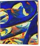 Pop Art B13 Wood Print