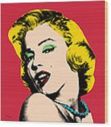 Pop Art Wood Print
