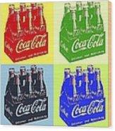 Pop Coke Wood Print