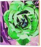 Pop Petals Wood Print