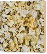 Popcorn - Featured 3 Wood Print
