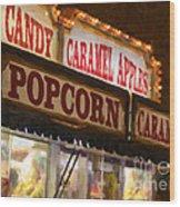 Popcorn Wood Print