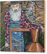 Popcorn Sutton - Bootlegger - Still Wood Print