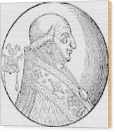 Pope Gregory II (d Wood Print