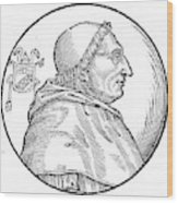 Pope Innocent Viii (1432-1492) Wood Print