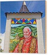 Pope John II Wood Print