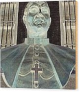 Pope John Paul The Second Wood Print