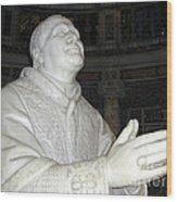 Pope Pius Ix Santa Maria Maggiore Wood Print
