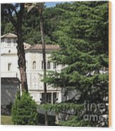 Pope's Private Residence Wood Print