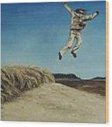 Popham Jump  Wood Print